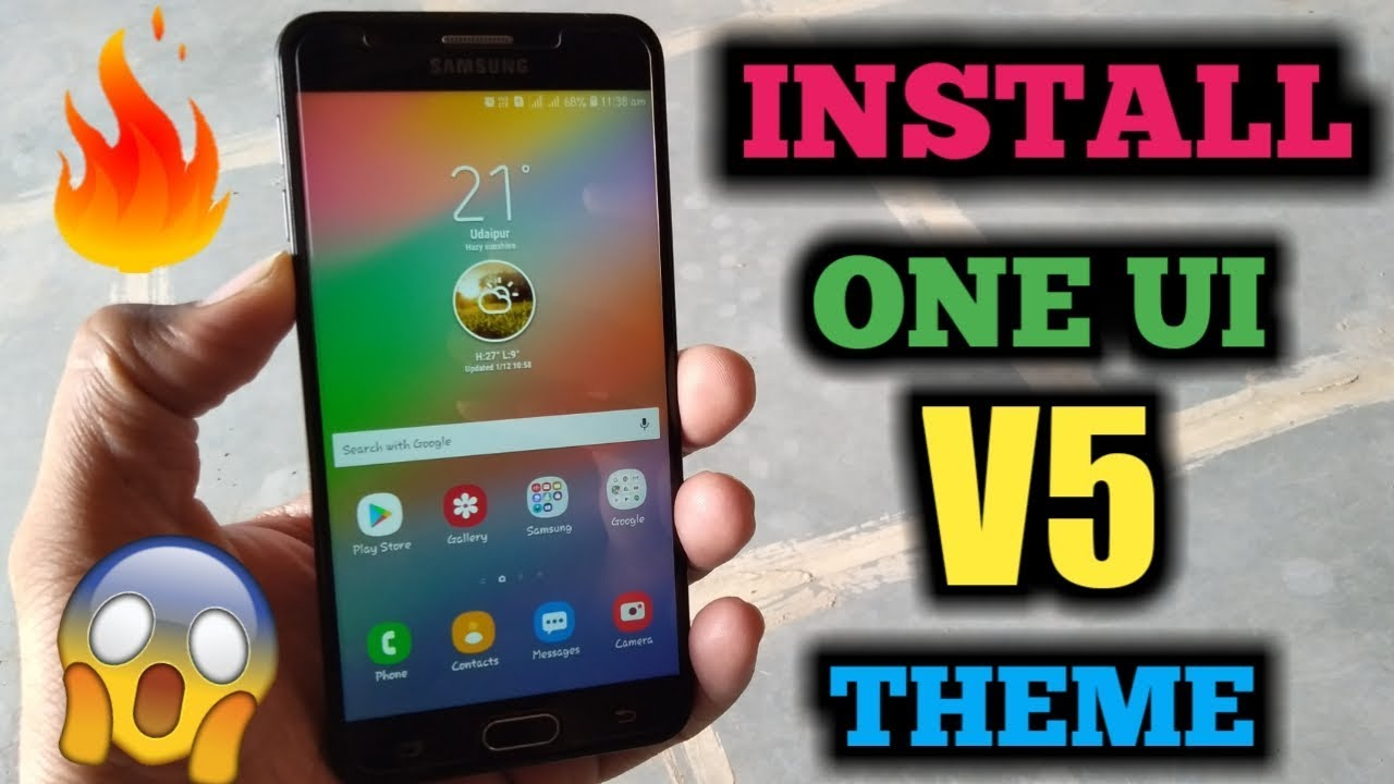 INSTALL SAMSUNG ONE UI V5 NIGHT THEME | Samsung themes