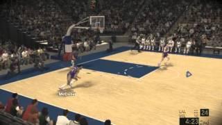 NBA2k12 - Kareem Abdul Jabbar gameplay