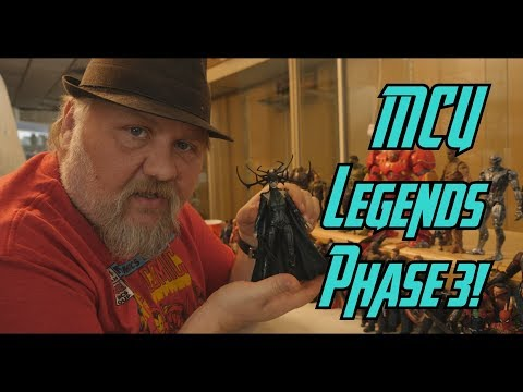 Marvel Legends phase 3 - 동영상