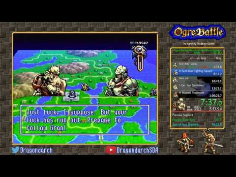 (SNES) Ogre Battle: March of the Black Queen - Any% in 1:05:26