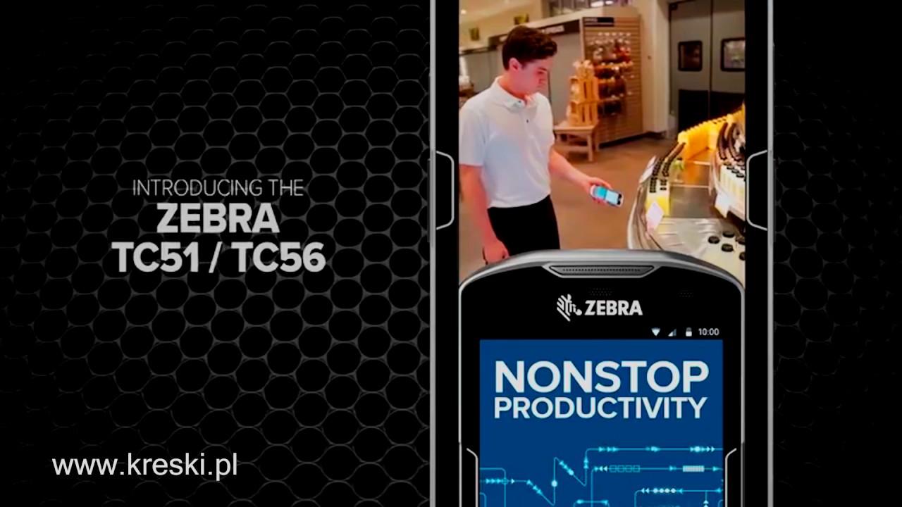Zebra TC51/TC56 *Kreski Sp j * polska wersja