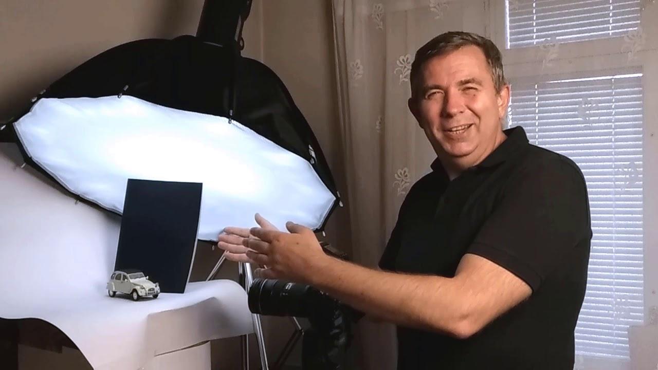 Фотографируем миниатюрный ретро-автомобиль, схема освещения и обзор вспышки Rime Lite i4TTL