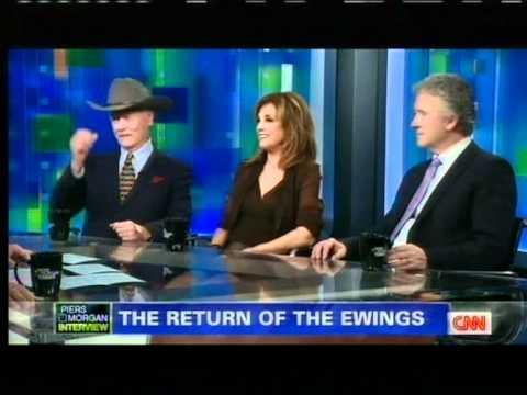 DALLAS RETURNS! ALL Cast Interview on CNN's piers morgan tonight