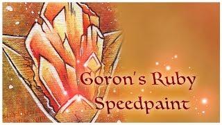 Legend of Zelda Trading Cards: Goron's Ruby