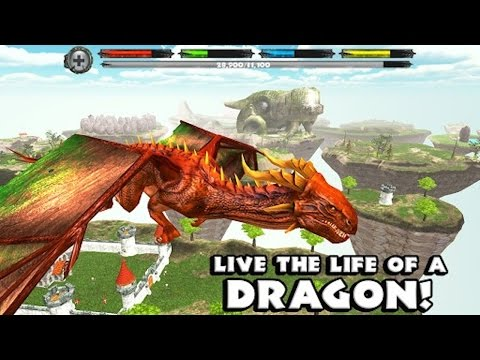 """World of Dragons: Dragon Simulator - """"The Movie"""" - iPad, iPhone App. OS X 10.6.6 or later"""