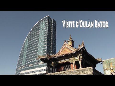 Visite de Oulan Bator, la capitale de la Mongolie