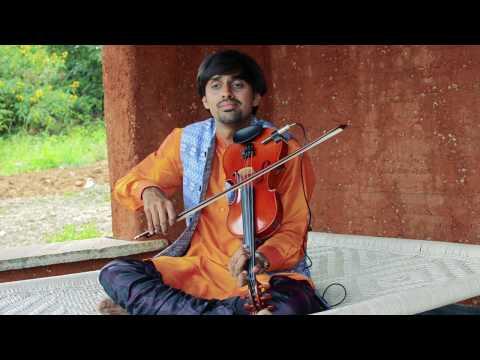 Roja Janeman | Pudhu Vella Mazhai | Jagadoddharana - Violin Cover Medley - Aneesh Vidyashankar