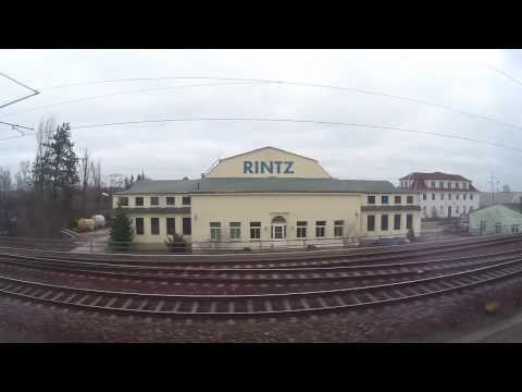 S-Bahn Ride from Dresden Hauptbahnhof to Pirna, Saxony, Germany - December 2016