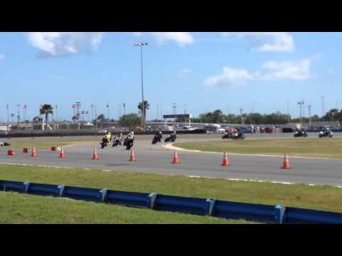 Daytona 200 Bike Crash