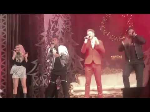 Pentatonix ptx deck the halls & sleigh ride Boston 12.22.2017
