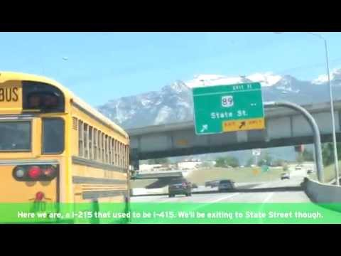 Salt Lake Valley Freeways (Part 1)