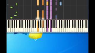 Eddy Grant   gimme hope joanna [Piano tutorial by Synthesia]