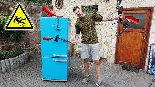 Wie stabil ist ein Kühlschrank? - Experiment