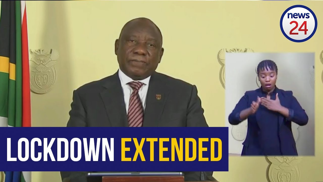 WATCH | 9 April: Ramaphosa extends lockdown for 2 more weeks - News24