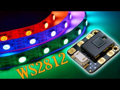 Управление WS2812 жестами! DFrobot.com