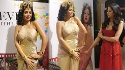 Sridevi's WAX STATUE First Look | Boney Kapoor, Janhvi Kapoor Unveil In Singapore Madame Tussauds