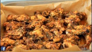 jerk wings ...JAMAICAN jerk chicken wings