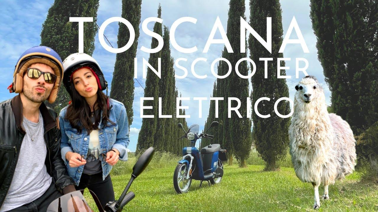 Toscana in scooter elettrico 🌱 Cosa vedere in Valdera