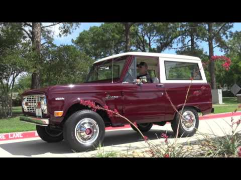 1969 Ford Bronco 4x4 Classic SUV Road Test in 4K