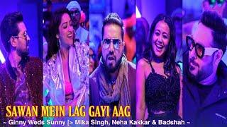 Sawan Mein Lag Gayi Aag- Badshah Neha Mika-Full Mp3 Song 2020