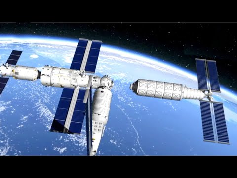 How will China build the Tiangong space station?