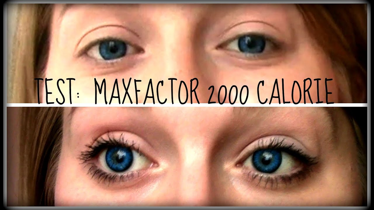 6d7967b234f TEST: MaxFactor 2000 Calorie Dramatic Volume - YouTube