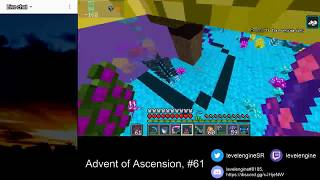 MINECRAFT Livestreams Get All Items ~ Advent of Ascension (#61)