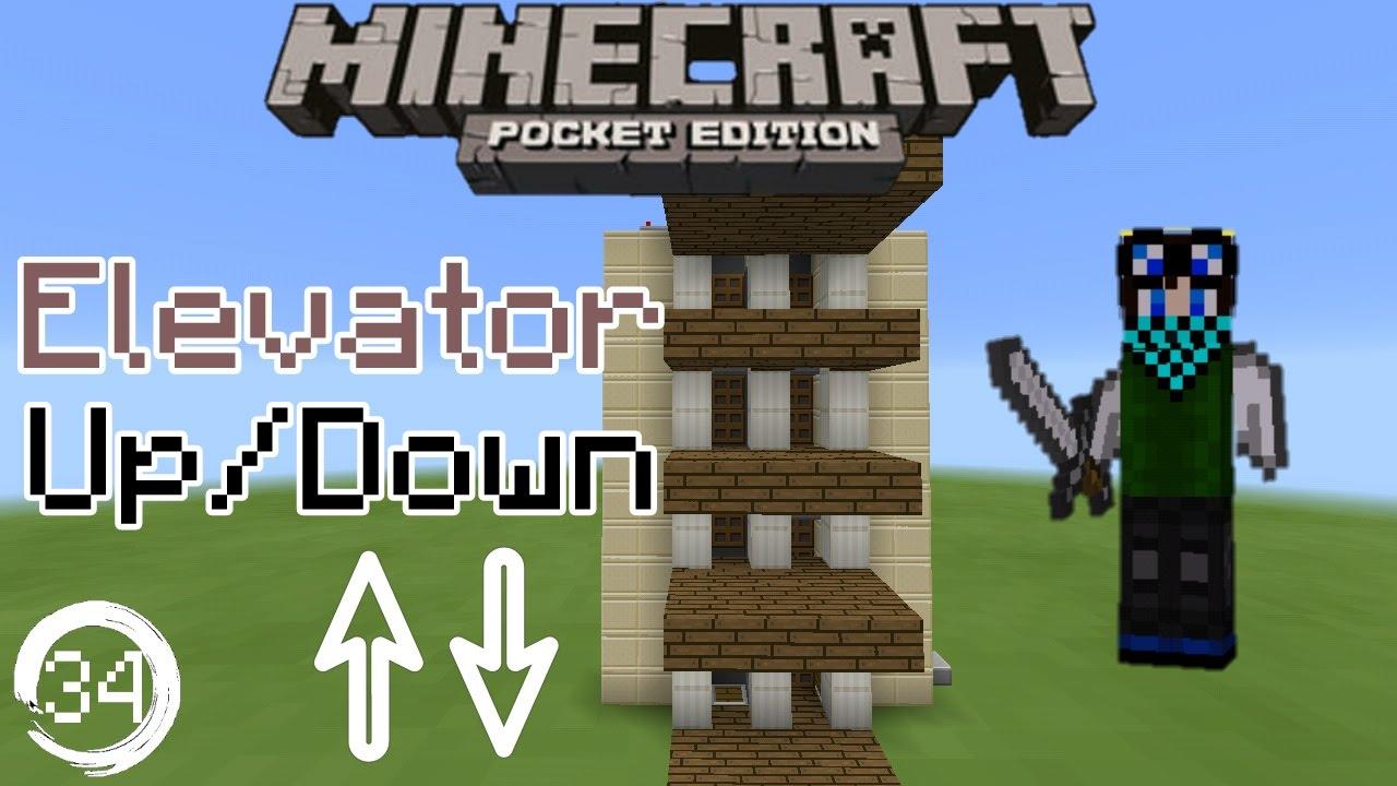 Minecraft Pocket Edition Redstone Tutorial How To Build A