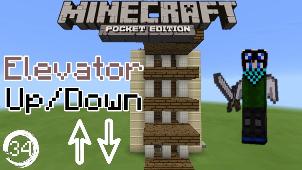 Minecraft Pocket Edition Redstone Tutorial How To Build A