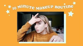 10 MINUTE EVERYDAY MAKEUP ROUTINE | Rhianon Paige