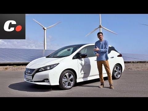 Nissan Leaf   Primera Prueba / Test / Review en español   coches.net