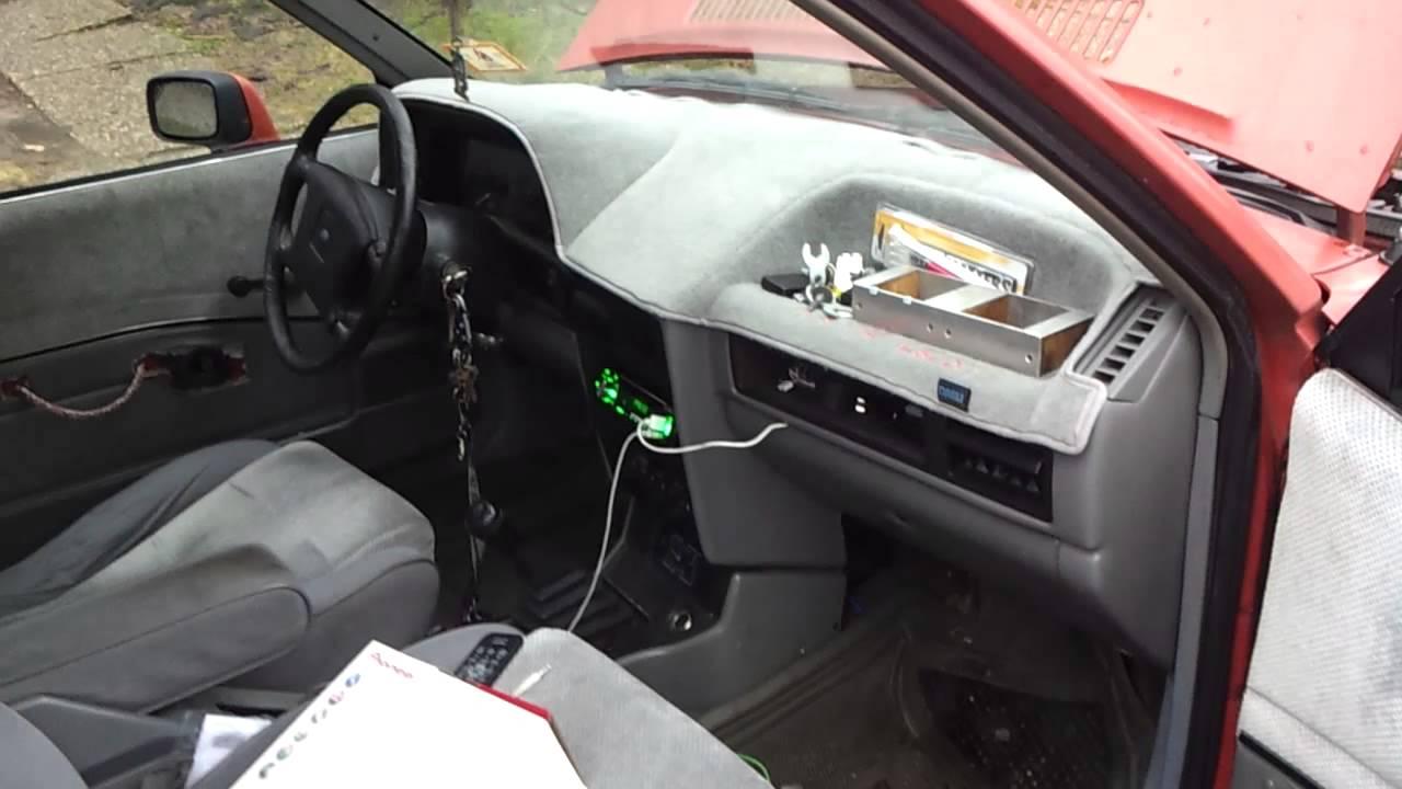 maryvilleredneck 1986 Ford Escort Specs, Photos ...  |1986 Ford Exp Interior