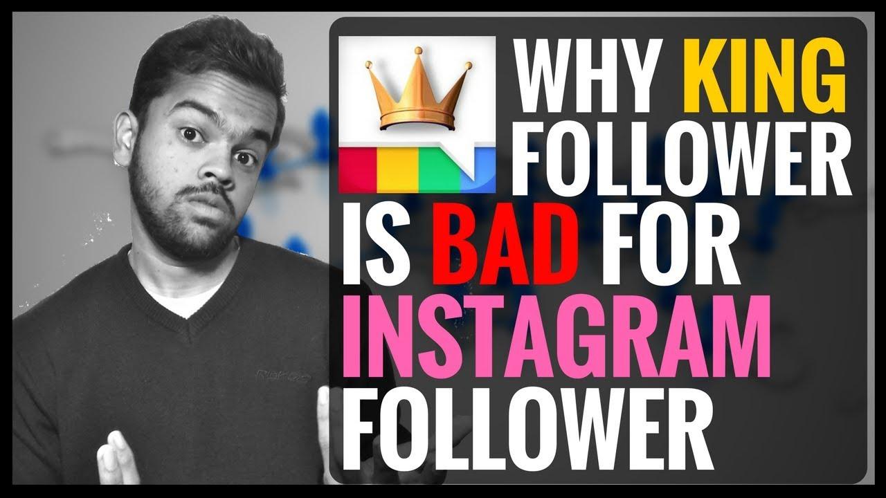 Increase Instagram Followers | Why King follower is bad for instagram |  Digital TK