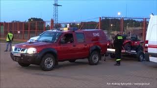 139 strażaków z województwa zachodniopomorskiego i wielkopolskiego wypłynęła promem ze Świnoujścia d thumbnail