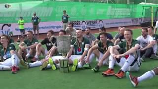 Siegerehrung Deutsche Feldhockey-Meisterschaft der Herren 2018 in Krefeld