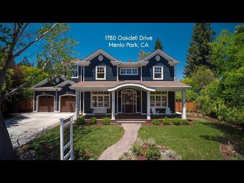 Gullixson presents 1780 Oakdell Menlo Park, CA $7,995,000.
