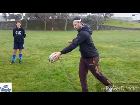 ERNZ - Kicking session at the Auckland Rugby International Academy