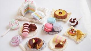 How to make some fondant miniature sweets!