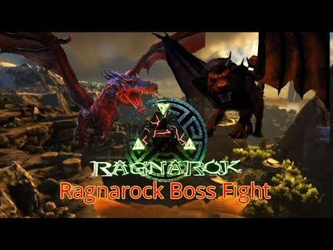 Ark boss fight ragnarok