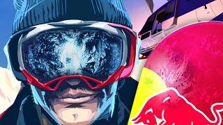 видео Crazy Snowboard на Android — описание игры
