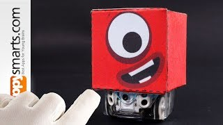 Make Numberblock 1 Figure (can you guess what we put inside?) - Fun Crafts Tutorial for Kids