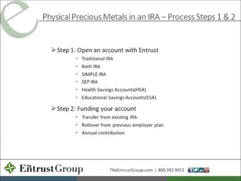 Investing in Precious Metals Through a Self-Directed Retirement Account