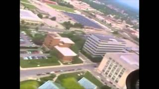 Fort Wayne Downtown in a Helicopter!