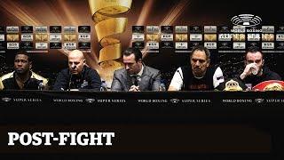 Gassiev vs Dorticos: Post-Fight Press Conference