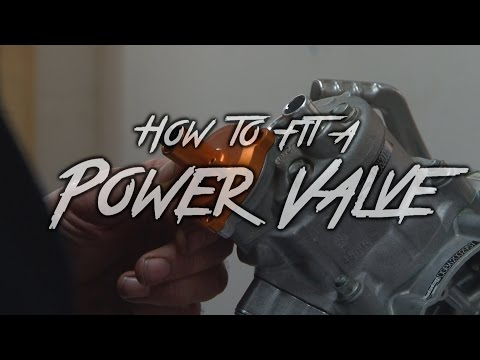 How to Fit an After Market Power Valve- KTM 65cc