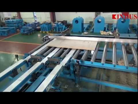 KINDUS - Mineral-wool Board Processing Line for H beam & Pipe Insulation Covers
