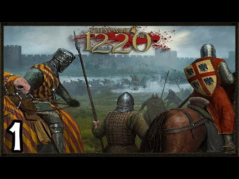 New MEDIEVAL England Grand Campaign - Total War: 1220 Mod Gameplay  #1