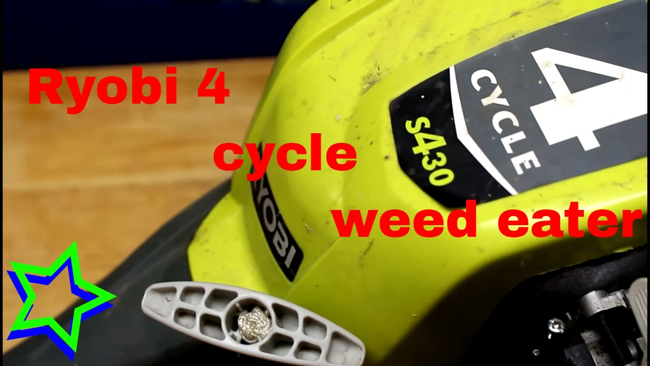 Ryobi 4 Cycle Gas Trimmer Weed Eater Review Things I Like And Some Dont