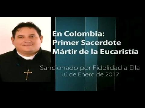 Tras su suspensión a divinis por no comulgar con el pecado: Entrevista a P. Uribe. Un C. Con Galat