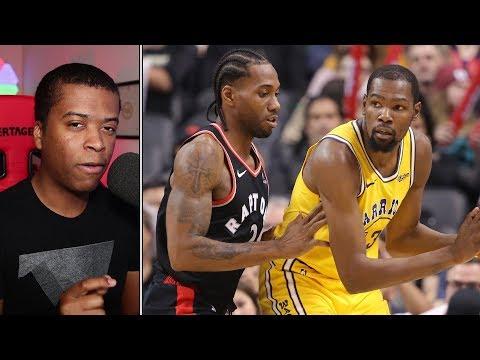 The Battle of Titans: Kawhi Leonard vs Kevin Durant | NBA Recaps